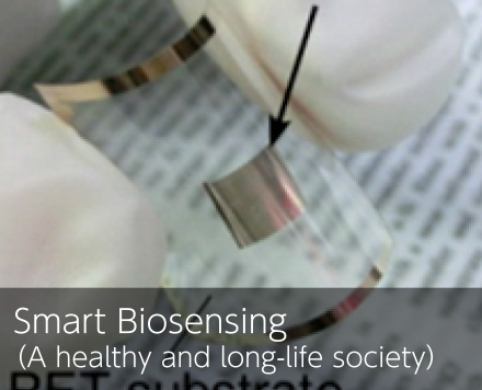 Smart Biosensing(A healthy and long-life society)